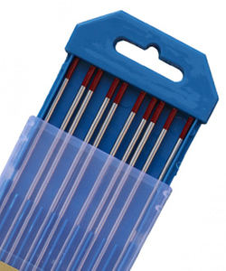 WT20-2%Thoriated Tungsten Electrodes red rods for TIG Welding